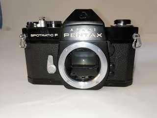 Asahi pentax spotmatix F (black body)