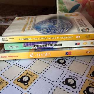 (REX) K to 12 Grade 8 Books