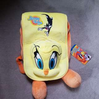 Tweety Bird Back Pack with Tag