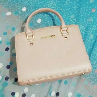 Replica MK Handbag Pink + Tali Panjang