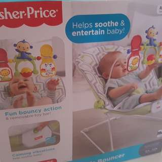 Fisher price baby bouncer (brand new)