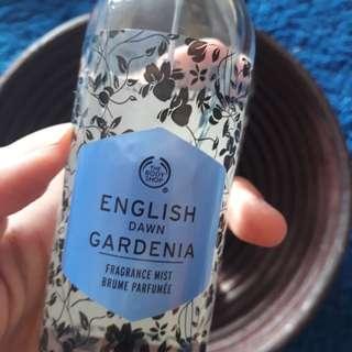 english dawn gardenia mist