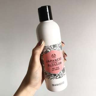 BN the body shop japanese cherry blossom body lotion 250ml