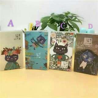 Cat Blank Notebook