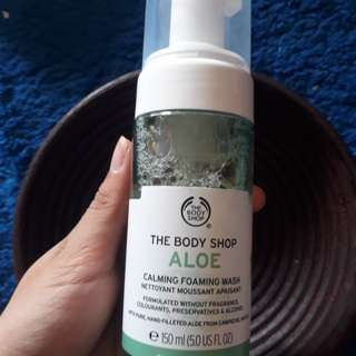 aloe foaming wash