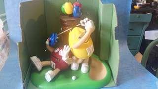 m&m 珍藏玩具擺设。