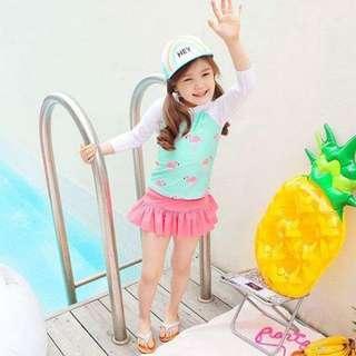🚚 熱銷火鳥二件式泳衣 #附泳帽