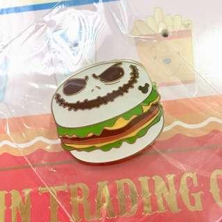 全新 迪士尼 美食車 Jack 徽章