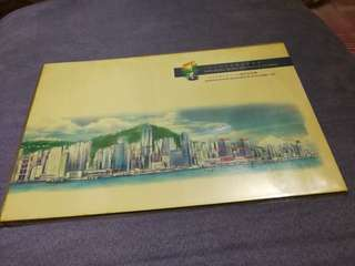 Hong kong post stamp 香港郵政郵票套摺1999通用郵票 1999 definitive stamps