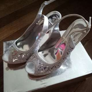 Janeo Open Toe High Heels