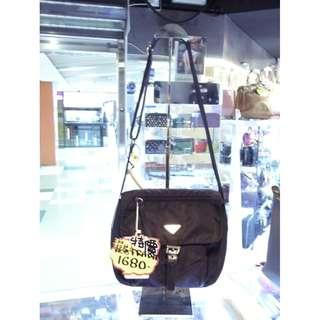 Prada Black Nylon Crossbody Shoulder Bag 普拉達 黑色 尼龍 斜揹袋 斜背袋 肩袋 袋