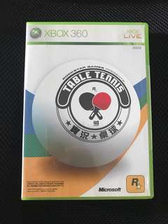 Xbox 360 table tennis