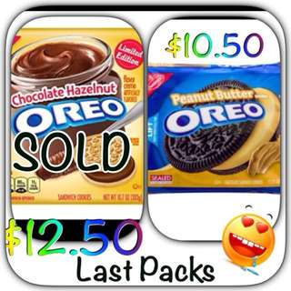 Last Call - Peanut Butter Oreo From USA