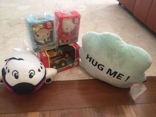 Bundle toy and stuff toys