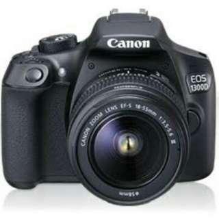 New Camera Canon 1300D EOS Wifi Dicicil 0% Tanpa Kartu Kredit