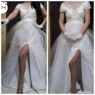 Prenup Wedding Gown
