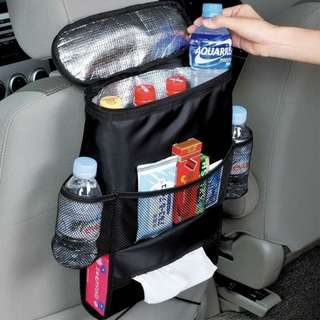 Car Backseat Organizer w/ Cooler