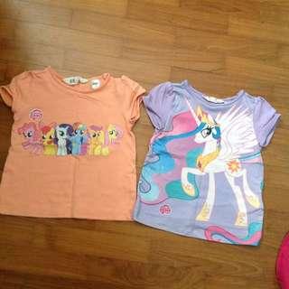 Preloved MLP Girls T-shirt (2 year old)