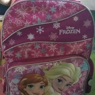 Disney Frozen Preloved Strolley schoolbag
