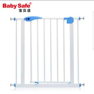 Brand new baby safety gate with extension