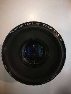 USED CANON EF50mm F1.8