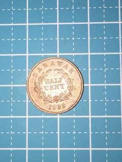 🔥Clearance🔥Sarawak 1/2 cent Year 1933