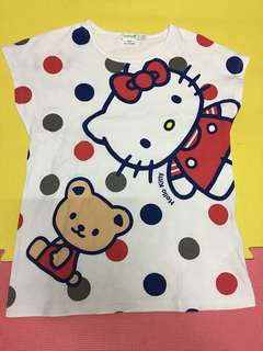Hello kitty 女裝 95%new