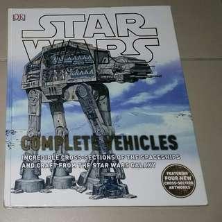 NEW DK Star Wars Complete Vehicles Book Starwars
