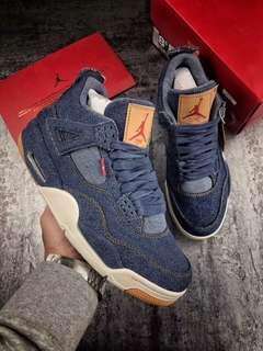 Jordan 4 Retro x Levi's