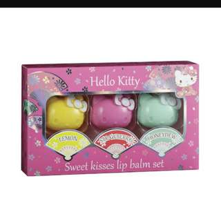 Lip balm set 3in1