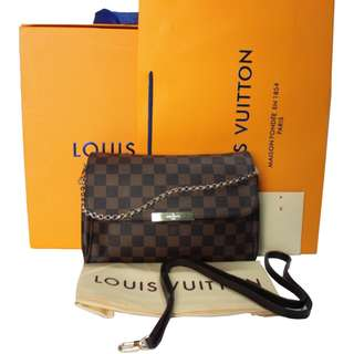 Louis Vuitton Favorite MM Damier Ebene Canvas