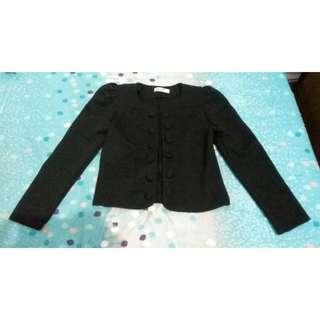 Crop Black Blazer