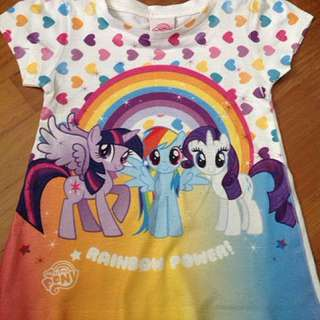 Preloved MLP T-shirt (4 year old)
