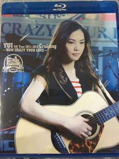 YUI How Crazy Your Love Blu-ray Disc