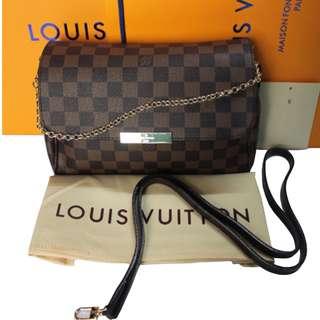 Louis Vuitton Favorite MM Damier Ebene Canvas