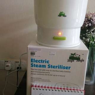 Electric steam steriliser Jingle Jungle