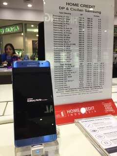 Kredit Samsung Note FE tanpa kartu kredit