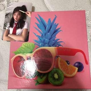 Red Velvet 夏日迷你專輯 The Red Summer 韓版 SeulGi康瑟琪