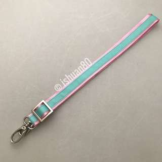 0.75 inch dual color Aquamarine baby pink seat belt strap for Jujube