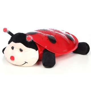 (Special price) Ladybird Plushie LED Night Projection Light