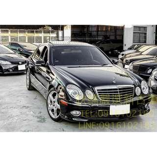 08年 Mercedes-Benz W211 E350 黑