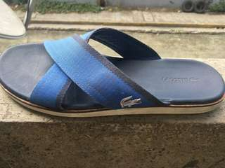 Original Lacoste slippers for Men