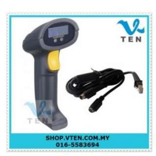 PS2 Keyboard Port Round Port Laser Barcode Scanner Gun Scanner