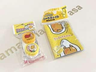 NEW! Authentic Japan Gudetama Card Holder / Contact Lens Holder