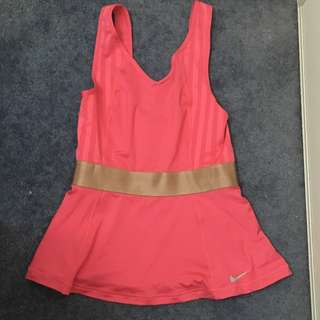Pink and Bronze Top Size S