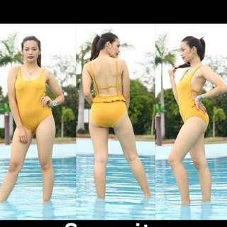 musturd Bikini/ two piece swimsuit