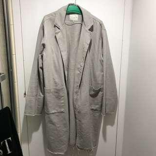 OAK AND FORT grey coat