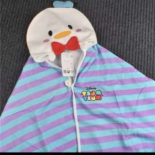 Donald duck Tsum Tsum Hooded Robe Cape