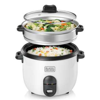 Black and Decker 1.8L Automatic rice cooker RC1860-B1