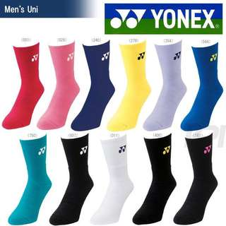 Yonex 1855 badminton tennis squash socks. Made in Japan. Used by pros